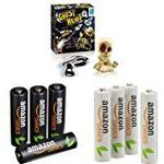 Ghost Hunt Game with AmazonBasics Rechargeable Batteries [4 AA + 4 AAA]